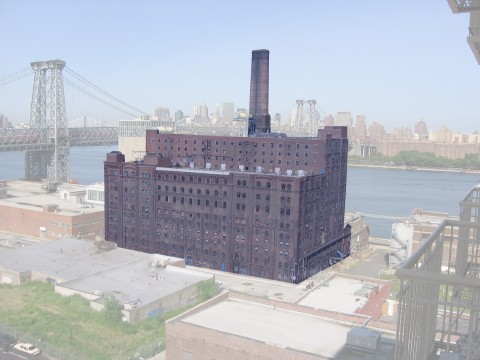 Domino Sugar Processing House